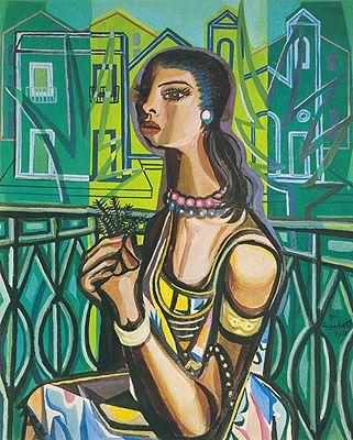 Mulher na Varanda