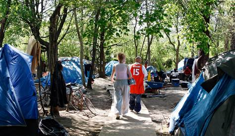 """Welcome To """"Transition Park"""", The Horrible Tent City In Camden, NJ"""