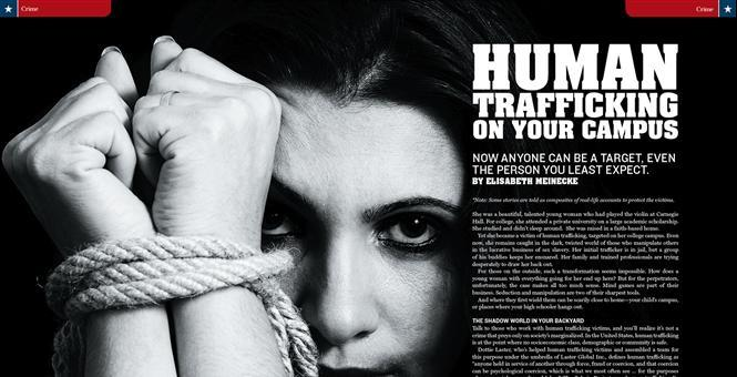 Town Hall Magazine Features Dottie Laster: Human Trafficking on Your Campus